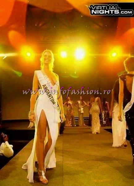 Argentina Macarena Francia at Top Model of the World in Germany 2012