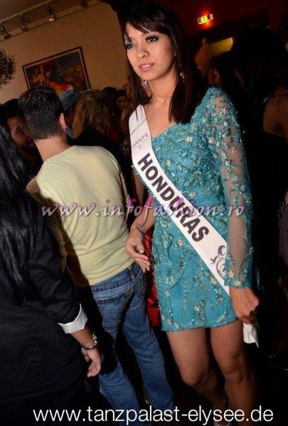 Honduras Laurie Villeda at Top Model of the World in Germany 2012