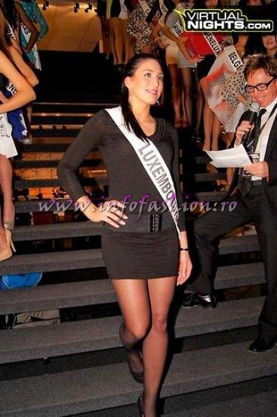 Luxembourg Iva Bukvic at Top Model of the World in Germany 2012