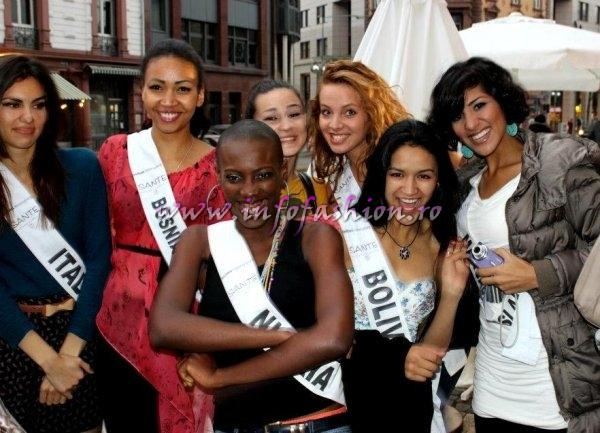 Nigeria Ngozi Anyiam at Top Model of the World in Germany 2012