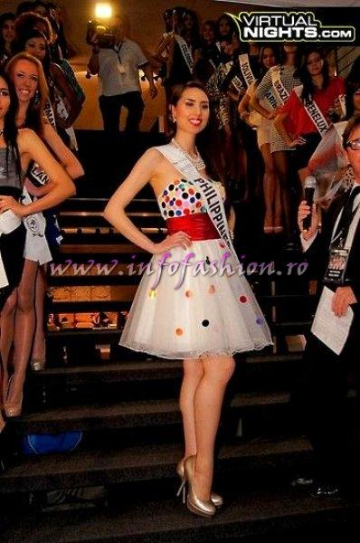 Philippines Christina Davis Montero at Top Model of the World in Germany 2012