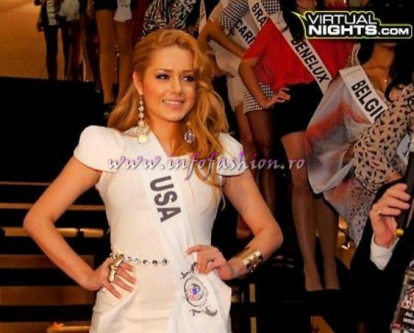 USA Angie Tatiana Ospina at Top Model of the World in Germany 2012