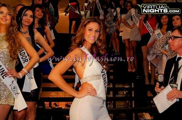 Venezuela Maria de Luz Da Silva at Top Model of the World in Germany 2012