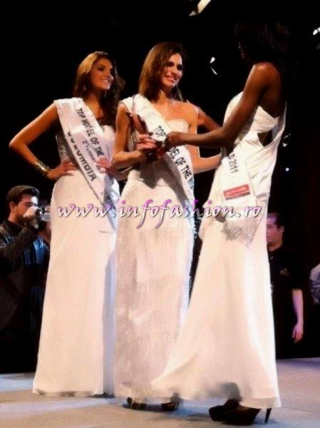 Italy, Zimbabwe, Colombia, Top 3 at 19th Top Model of the World in Germany 2012