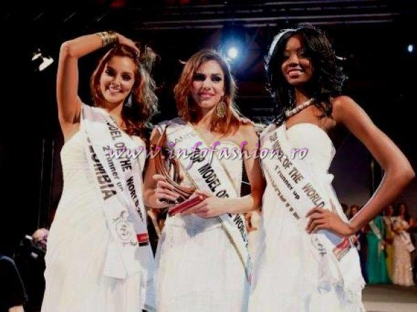 Italy, Zimbabwe, Colombia, Top 3 at 19th Top Model of the World in Germany 2012 Foto Marc Vollmannshauser