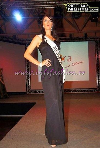 Australia Toni Mitchell at Top Model of the World in Germany 2012