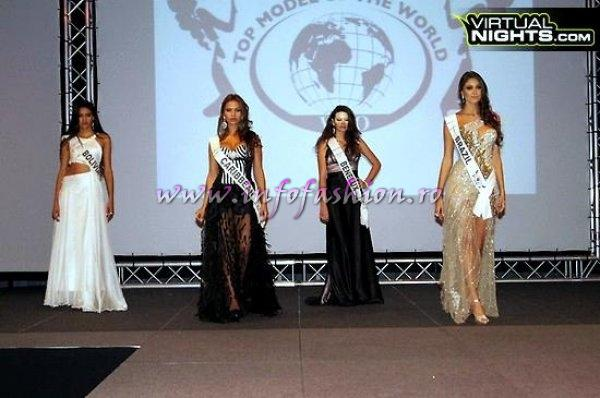 Benelux Lidia Barbosa at Top Model of the World in Germany 2012