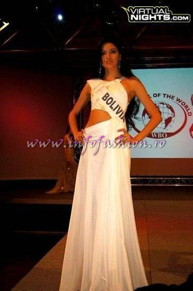 Bolivia_Quiroga Nayeli at Top Model of the World in Germany 2012