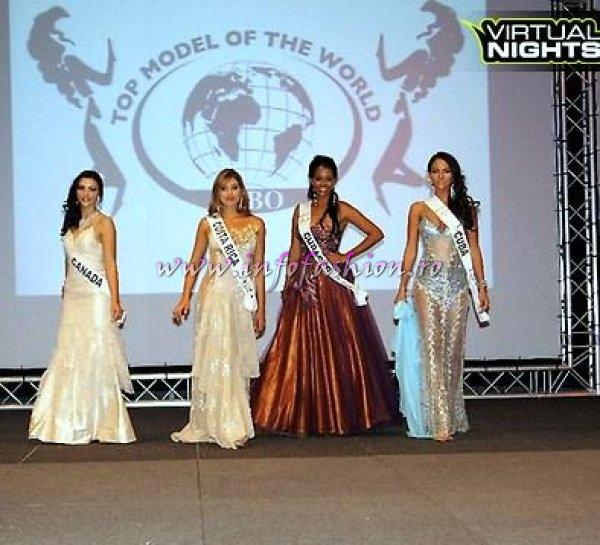 Costa Rica Anniel Cespedes at Top Model of the World in Germany 2012