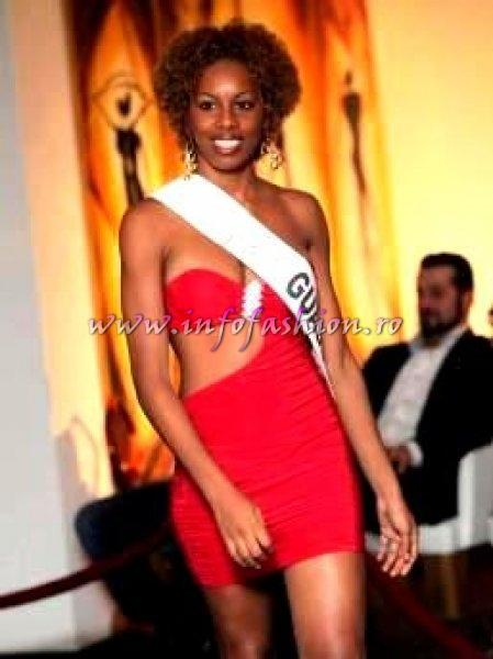 Guadeloupe_2012 Mitchelle Malezieu at Top Model of the World in Germany