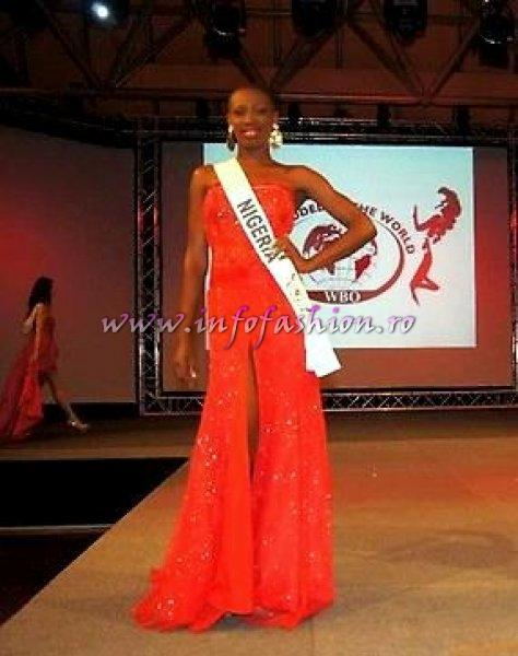 Nigeria_2012 Ngozi Anyiam at Top Model of the World in Germany