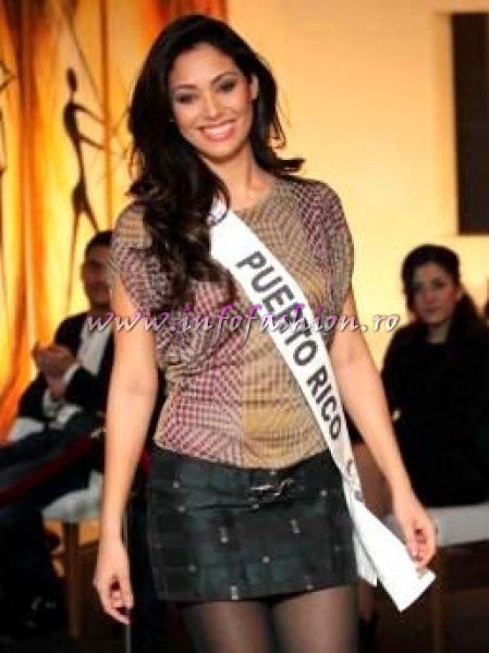 Puerto Rico Nadyalee Torres at Top Model of the World in Germany 2012