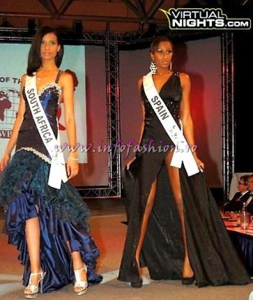 South Africa Loreal Laria Magro at Top Model of the World in Germany 2012