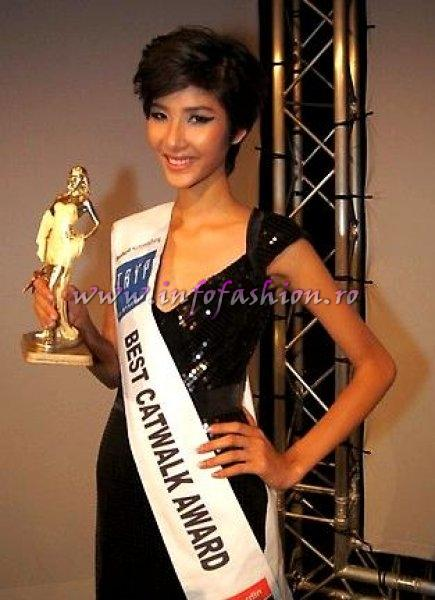 Vietnam Thuy Hoang at Top Model of the World in Germany 2012
