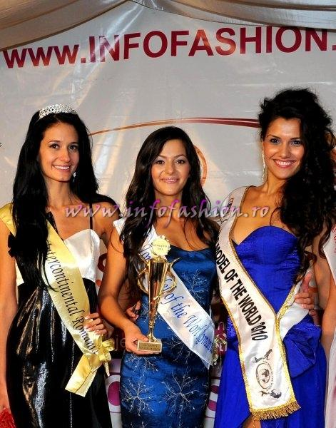 Delia Duca, Alexandra Birsan, Loredana Salanta la Top Model of the World 2011 Romanian InfoFashion Festival Spirit of Beauty