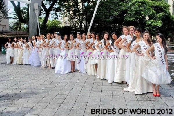 Romania Alina Clapa 2012 (Febr.) la Miss Bride of the World in Singapore/ Infofashion Platinum Agency