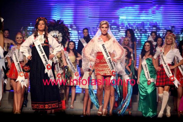 Romania Alexandra Delia Petria st Miss Global Beauty Queen In China /Infofashion Platinum