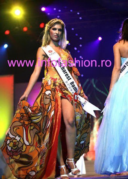 Romania Alexandra Delia Petria to Miss Global Beauty Queen In China