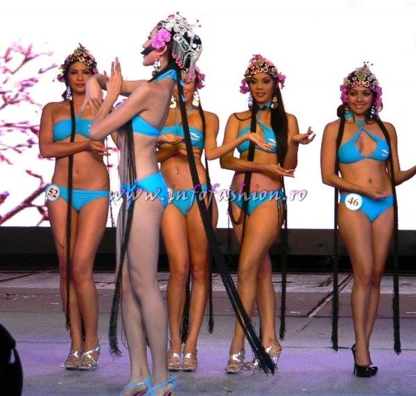 Oana Burlacu Romania 2011 la Miss Bikini International in China /InfoFashion Platinum Ag.
