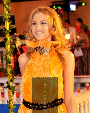 AMALIA_GIRBEA locul 2 la Miss World Romania Finala Nationala 2011 org. Platinum Ag InfoFashion