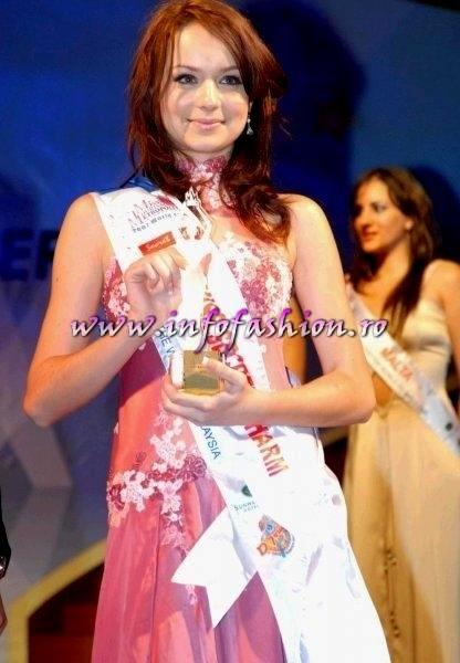 Sorina_Neacsu 2008 Romania castigatoarea Miss Tourism Metropolitan International in Malaysia prin Infofashion Platinum Ag S_175CM