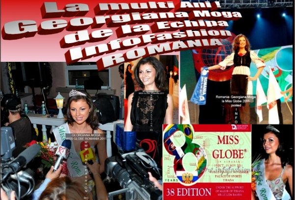 Georgiana_MOGA 2011 a castigat titlul Miss Disco Queen la Miss Globe ed.38 dupa Miss World Romania org. InfoFashion Romania