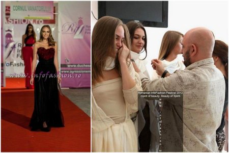 Andrada_Dohotar la Miss & Romanian Infofashion Festival -Spirit of Beauty® Finala la Pitesti