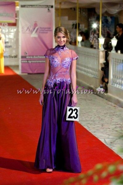 Nelly Costea (Craiova) la Miss & Romanian Infofashion Festival