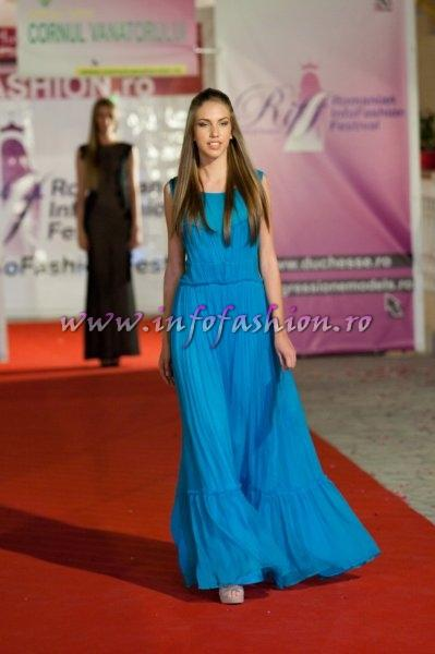 Paula_Zeces (Tg. Mures) la Romanian Infofashion Festival -Spirit of Beauty® Finala la Pitesti