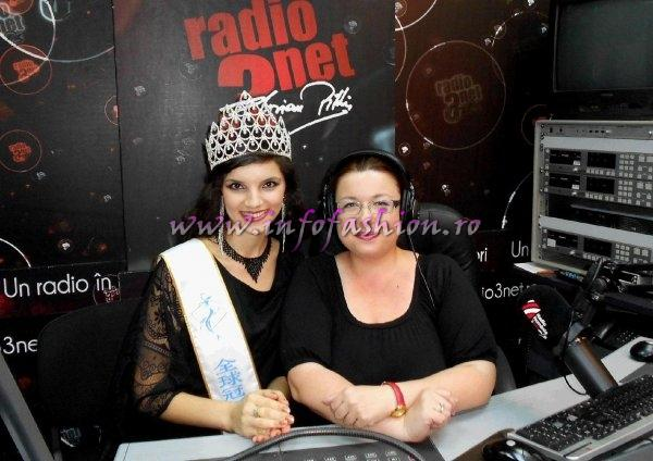 Madalina Ion si Cristina David in Studioul RADIO ROMANIA 3NET FLORIAN PITTIS