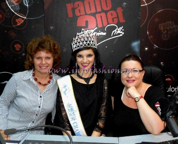 Oana Georgescu, Madalina Ion si Cristina David in Studioul RADIO ROMANIA 3NET FLORIAN PITTIS