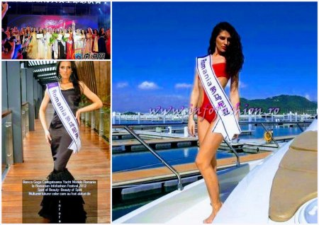 Bianca_Goga Romania in TOP 15 la Miss International Yacht Models, castigatoare Romanian InfoFashion Festival 2012