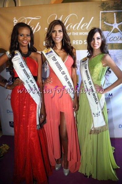 Monica Palacios Top Model Caribbean (homebased in Colombia) is the new Top Model of the World -Final in Egypt, El Gouna, 2013