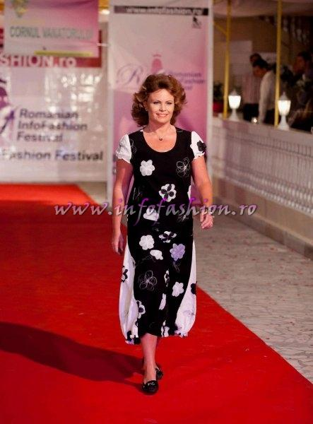Jurnalista Oana Georgescu in juriu la Romanian Infofashion Festival Spirit of Beauty- Beauty of Spirit 2012