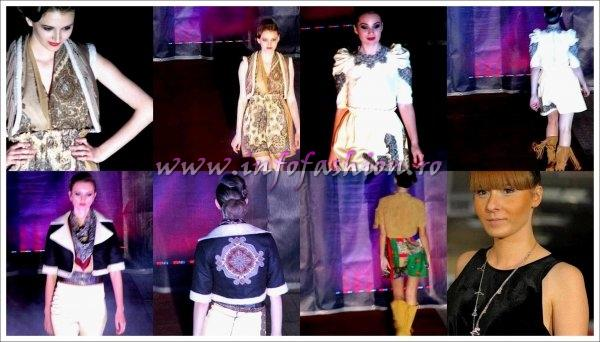 Tineri_Designeri_Steriopol Silvia Alexandra, Galati la Fashion Gate Sinaia `Tribal Spirit` promoted by InfoFashion Romania
