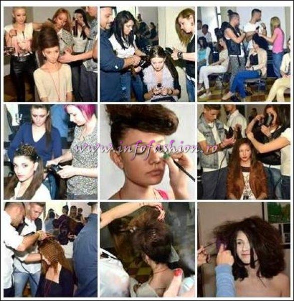 Hair_styling_Ady Studio Adrian Colesniuc la Fashion Gate Sinaia- Festivalul National studentesc de Moda si Design vestimentar-