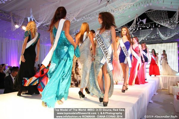 Among the Contestants, Diana Coras, Romania at 21st TOP MODEL OF THE WORLD 2014 in Egypt, El Gouna, Red Sea