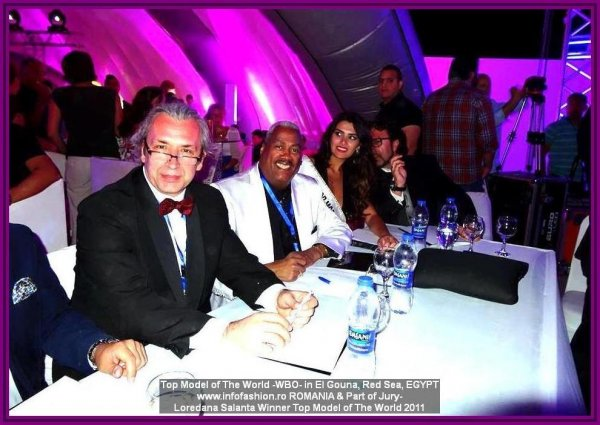 21st TOP MODEL OF THE WORLD 2014 in Egypt, El Gouna, Red Sea, Loredana Salanta, Romania, Title Holder TMOW in Germany 2011, Part of Jury