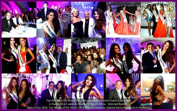 Loredana_Salanta Title Holder TMOW in Germany 2011, in Jury Panel 21st TOP MODEL OF THE WORLD Final 2014 Egypt