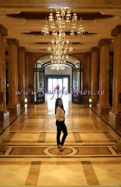 Romania Bucharest, Stephanie Be (author) at the Athenee Palace Hilton, Photo Huffingtonpost