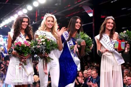 Miss Supranational USA-Allyn Rose, Winner Miss Fashion World PTAK MODA, Belarus Kristina Marcinkevich (1st ru), Poland Katarzyna Krzeszowska (2nd ru), Slovenia- Tjasa Zver, Miss Photogenic