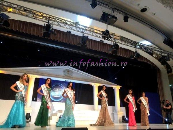 TOP 6: CUBA, ARGENTINA, PORTUGAL, PHILIPPINES, SOUTH AFRICA, THAILAND at 43th edition in Magdeburg, Germany of Miss Intercontinental. Contestant For Romania- Emanuela Tancau (RIFF) 04.12.2014