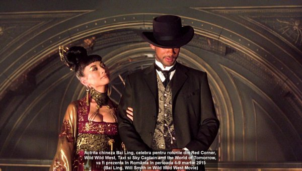 Bai Ling, Will Smith in `Wild Wild West` Movie