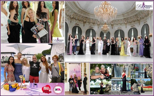 Designer Adriana Agostini Rochii seara `World Trip` la Romanian Infofashion Festival- Spirit of Beauty