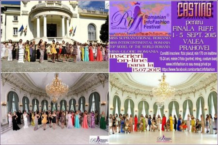 Platinum Agency Romanian InfoFashion Festival -Spirit of Beauty® RIFF 2015 pe Valea Prahovei