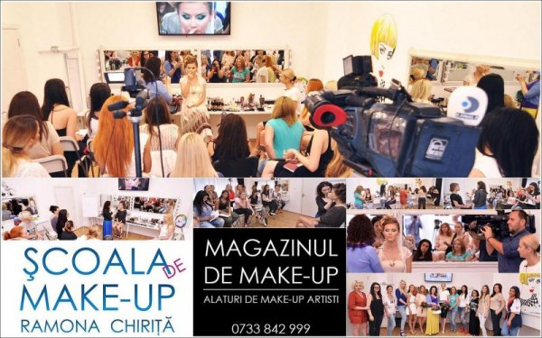Make_up Scoala de make-up Ramona Chirita si Magazinul de make-up, profesionisti in machiaj