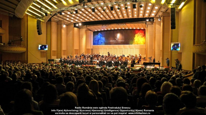 Radio Romania este oglinda Festivalului International `George Enescu` 30.08- 21.09.2015