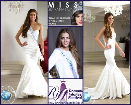 Miss_Supranational 2015 Final in Poland, Eliza Ancau, Romanian InfoFashion Festival Spirit of Beauty®