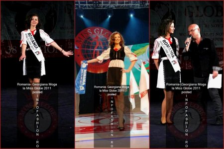 The_Miss Globe 2011 Romania Georgiana Moga Winner Disco Queen 38th ed. in Albania