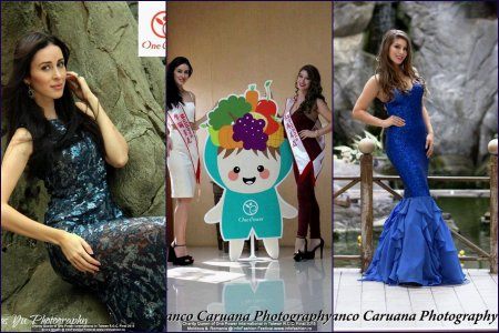 Taiwan Charity Queen of One Power International 2015 Winner is Maria Rene Carmona Soliz (Bolivia). Contestants: Romania- Andor Denisse, Moldova R- Elvira Stoian